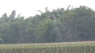 常锋天马植保无人直升机(GP6-45) 广东RTK全自主作业